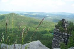 hike, Schrammsteine, view, Saxon Switzerland